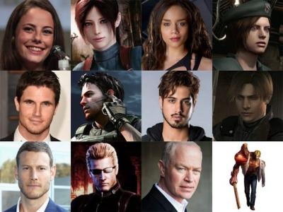 Reboot de Resident Evil tem seu elenco revelado