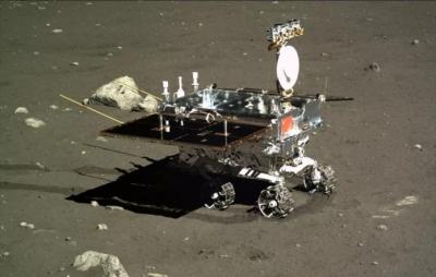 Robô chinês encontra estranha rocha na superfície da Lua