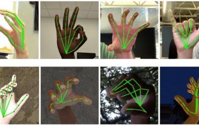 Algoritmo que rastreia mão pode reconhecer linguagem de sinais