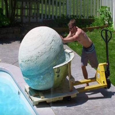 A maior bomba de banho do mundo