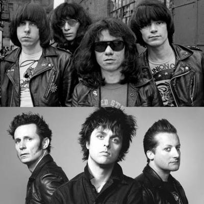 Ramones vs Green Day cover medley