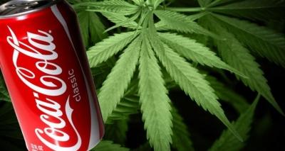 Coca-Cola pretende lançar bebida com maconha