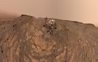 Sonda da Nasa passou o fim de semana explodindo uma rocha em Marte