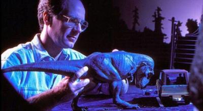 Fotos raras do set de Jurassic Park (o original)