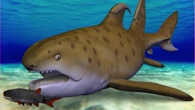 Tubarão ancestral apelidado de Godzilla ganha nome oficial