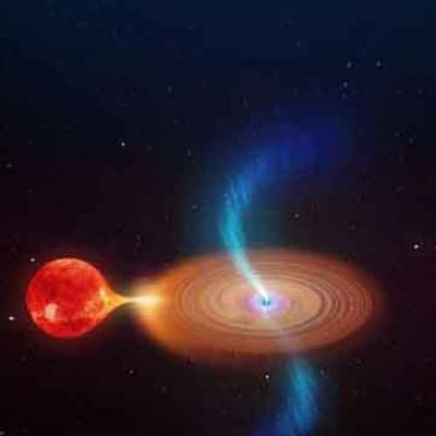 Buraco negro giratório cria nuvens de plasma de baixa velocidade no espaço