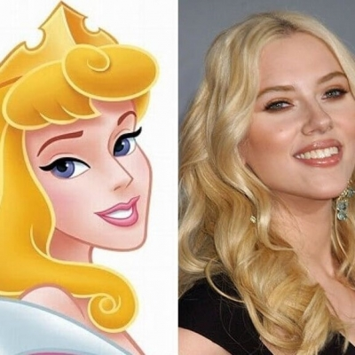 E se as atrizes de Hollywood fossem princesas da Disney