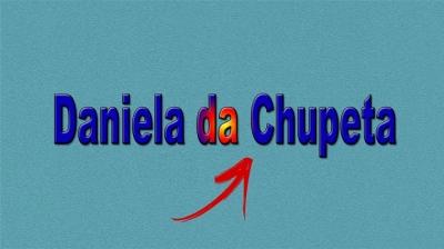 Daniela da Chupeta
