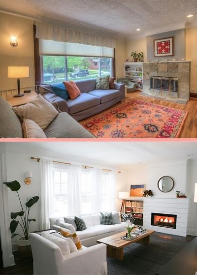 Soluções de renovação e design de interior de casas: JAE era vs. |X| agora #1