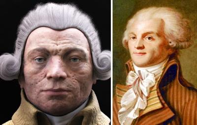 Cientistas recriam o rosto de personalidades históricas