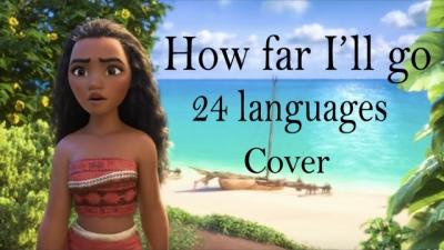 Ouça as músicas de Moana em mais de 20 línguas no mesmo vídeo