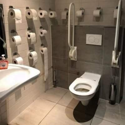 Papel higiênico: o prevenido vale por dois
