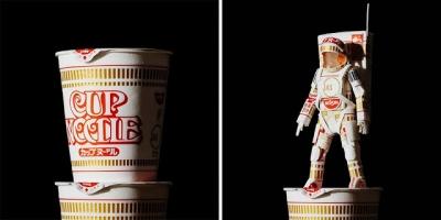 Artista japonês transforma embalagens em arte #2