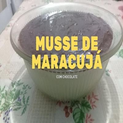A Simples e Maravilhosa Receita do Musse de Maracujá com Chocolate