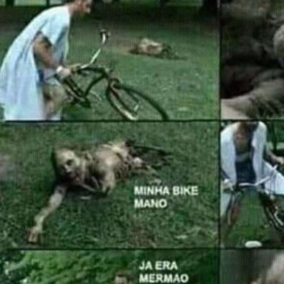 Nunca deixe sua bike fora de casa em um apocalipse no Rio de Janeiro