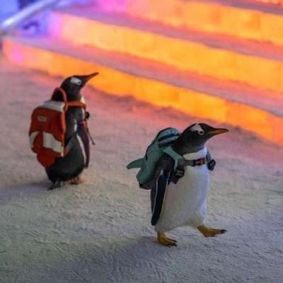 Pinguins de mochilinhas