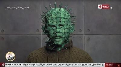Programa de TV entrevista o 'coronavírus'