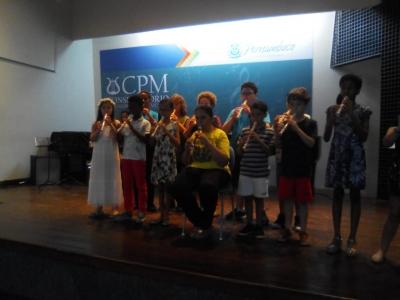 Audição de Flauta Doce