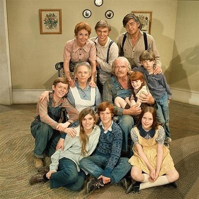 Os Waltons - os primeiros anos da série foram apresentados pela TV Globo.