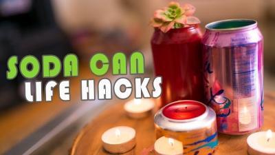 Life hacks com latas de refrigerante que você precisa conhecer