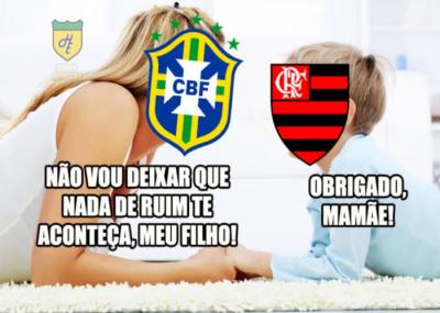 Vitória do flamengo contra o Vasco gera reações de torcedores na internet
