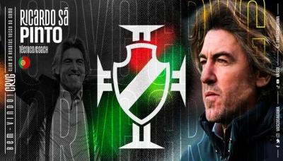 Ricardo Sá Pinto é anunciado como novo técnico do Vasco