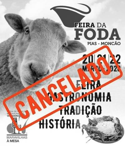 Corinavírus faz Feira da Foda ser cancelada em Portugal