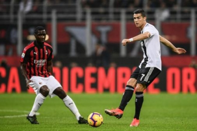 Sem Paquetá, Milan faz importante jogo contra a Juventus; CR7 está fora