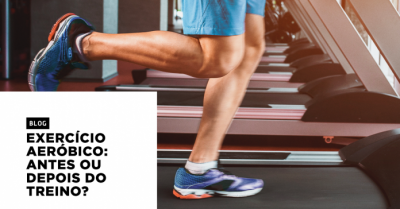 Exercício aeróbico antes ou depois do treino?