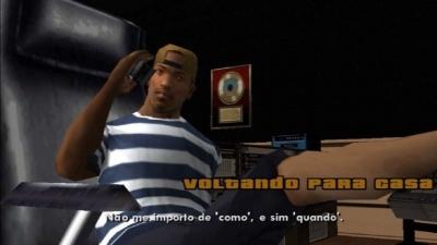 GTA San Andreas #78 Voltando para casa