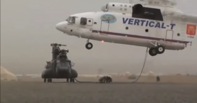 Na Rússia até o guincho é extremo, veja o vídeo