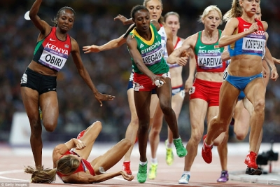 Os melhores fails olímpicos