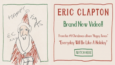 Eric Clapton lança clipe da canção 'Everyday Will Be Like A Holiday'