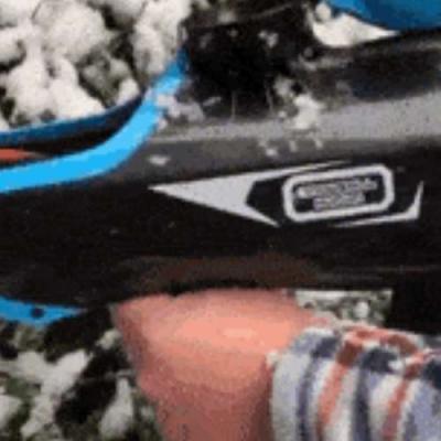 A poderosa arma de neve