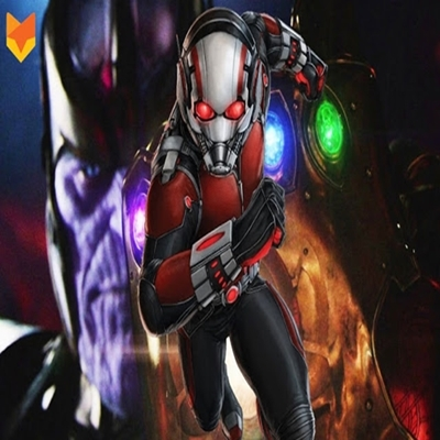 Homem formiga quer entrar no Thanos e explodir