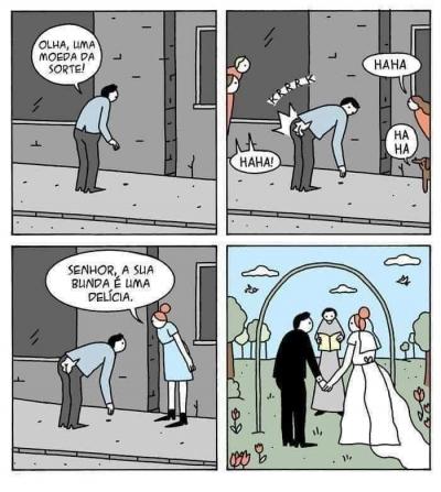 A moeda da sorte