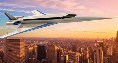 Apresentado avião que ligará New York a Londres em 90 minutos