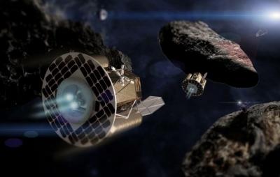 Primeiro robô de mineração espacial será lançado em novembro