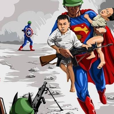 As ilustrações satiricas e realistas de Gunduz Aghayev