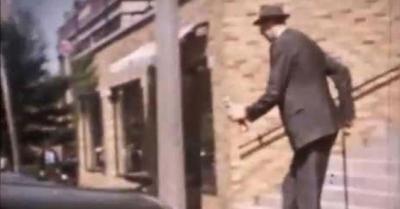 Assista um vídeo raro que mostra o homem mais alto do mundo