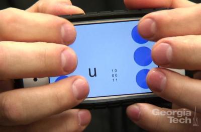 Você sabe como um cego usa um celular para mandar mensagens?