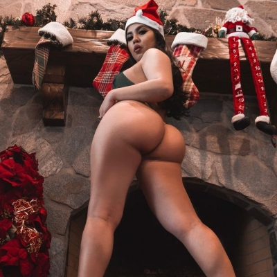 Papai Noel chegou mais cedo neste Natal