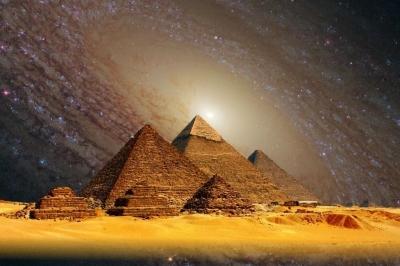 Serão as pirâmides egípcias um portal estrelar?