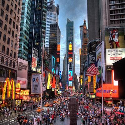 Times Square Ao vivo