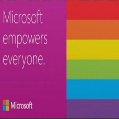 Microsoft apoia Parada do Orgulho LGBTQ