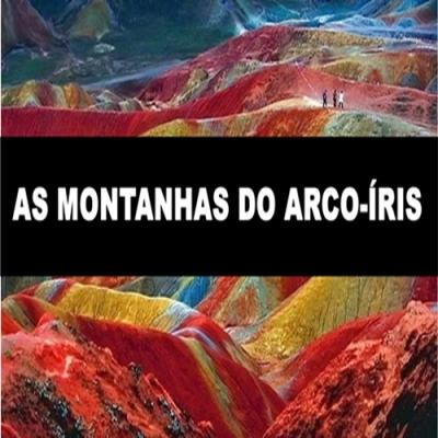 As montanhas do arco-íris na China