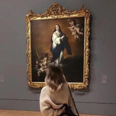 Ela torna este museu interessante