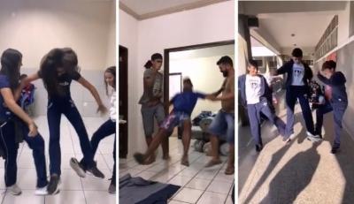 Colégios cristãos gravam vídeos para alertar sobre 'brincadeira' viral