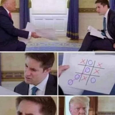 Ele claramente ganhou