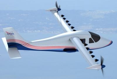 Nasa se prepara para testar avião totalmente elétrico
